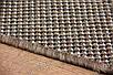 Безворсовый ковер-рогожка Balta Decora листья серо-коричневый, фото 5