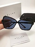Женские солнцезащитные очки lux Celine 4S066 Butterfly цвет черный