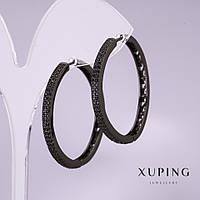 Серьги кольца Xuping 34х3мм