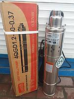 Насос глубинный шнековый EUROAQUA 4QGD 1.2-50-0.37 2 года гарантии