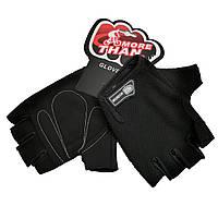 Велоперчатки MoreThan XL черные