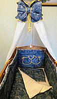 Комплект детского постельного белья  Джинс Бесплатная доставка