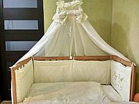 Набор постельного в кроватку Нежность жаккард Бесплатная доставка