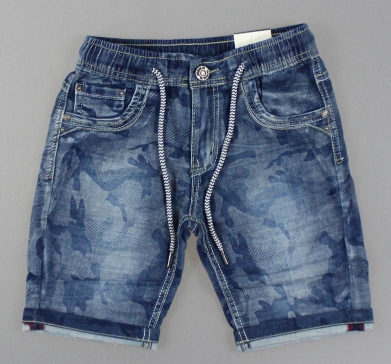 Джинсовые шорты для мальчиков S&D оптом, 4-14 лет. {есть:6 лет}
