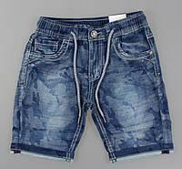 Джинсовые шорты для мальчиков S&D оптом, 4-14 лет. {есть:6 лет}, фото 1