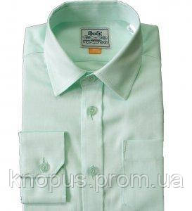 Рубашка для мальчика  нежно-салатовая, Bogi