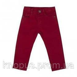 Джинсы для мальчика ярко-красные, Girandola, размер 92