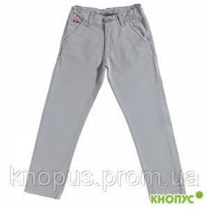 Брюки- джинсы ля мальчика  серые, Girandola, размер 140