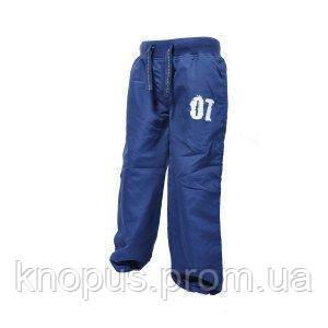 Штаны на хлопковой подкладке (синие), PIDILIDI BUGGA, размеры 86, 92