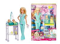 Кукла Барби доктор педиатр Barbie Baby Doctor Playset Оригинал