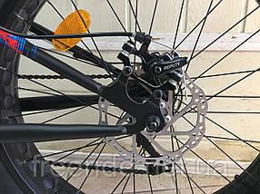 Фэтбайк подростковый Crosser Fat Bike 24 (13 рама) сталь, фото 3