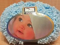 Детская махровая пряжа Filati Baby (100% микрополиэстер 50г/75м) Голубой