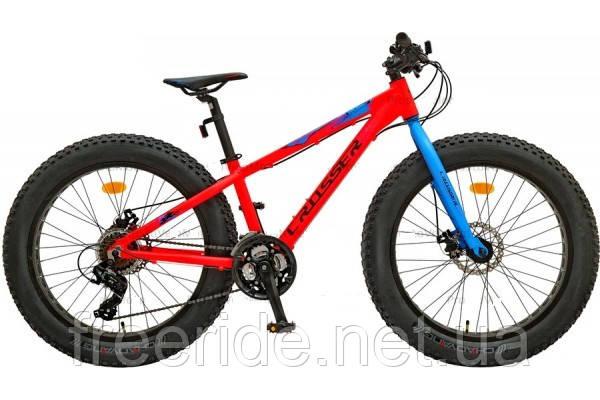 Фэтбайк подростковый Crosser Fat Bike 24 (13 рама) алюм