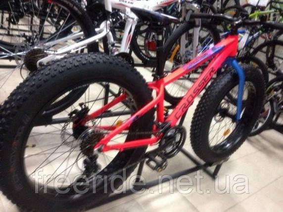 Фэтбайк подростковый Crosser Fat Bike 24 (13 рама) алюм, фото 2