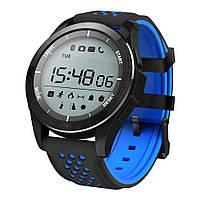Смарт-часы Водонепроницаемые NO.1 F3 Black-Blue (1_0035), фото 1