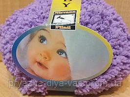 Детская махровая пряжа Filati Baby (100% микрополиэстер 50г/75м) Сиреневый