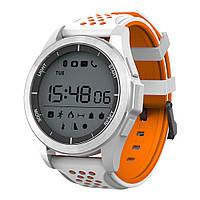 Смарт-часы Водонепроницаемые NO.1 F3 Orange-White (1_0036), фото 1