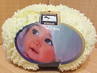 Детская махровая пряжа Filati Baby (100% микрополиэстер 50г/75м) Светлый лимон