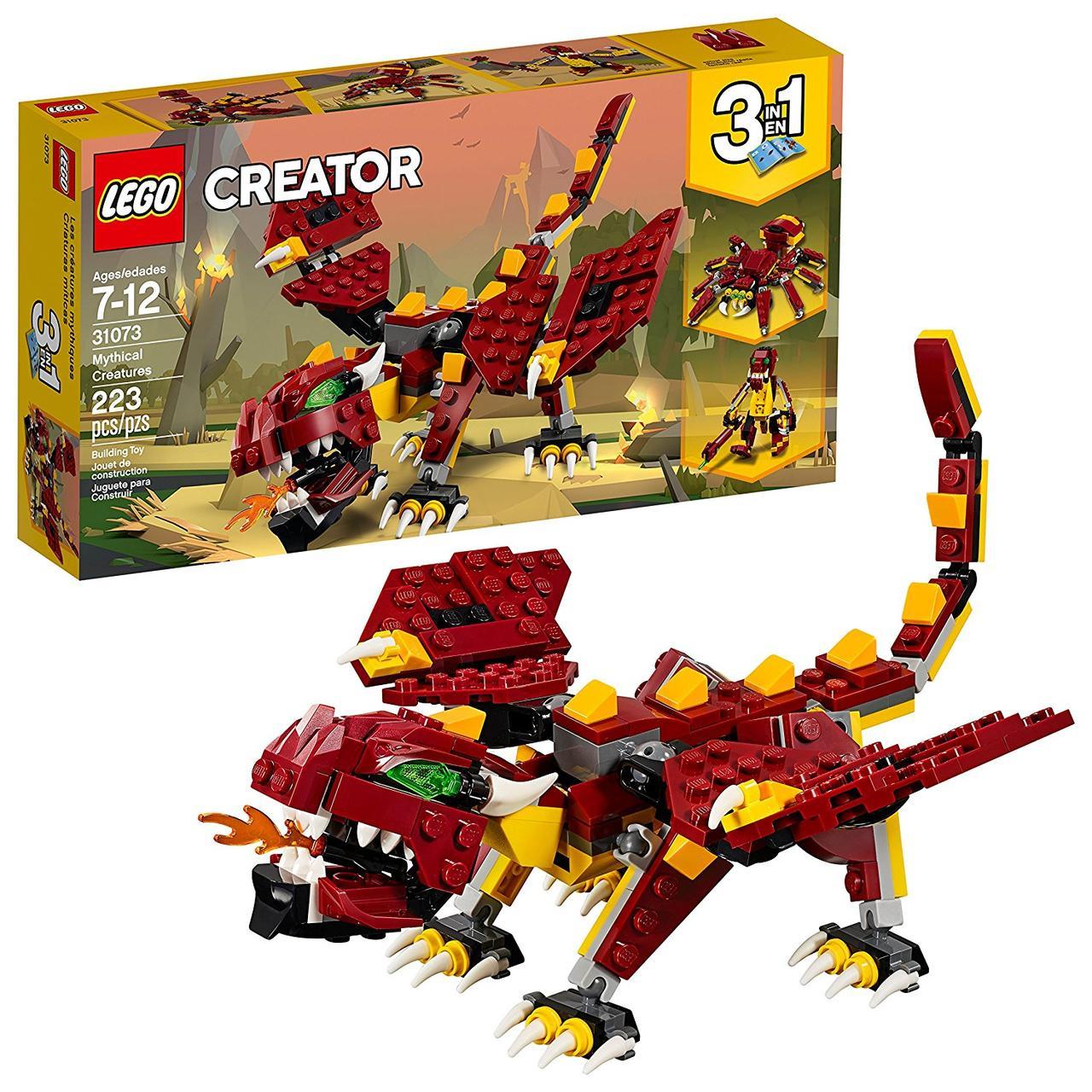 Конструктор LEGO Creator Міфічні істоти 223 деталі