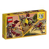 Конструктор LEGO Creator Міфічні істоти 223 деталі, фото 3