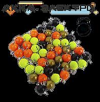 Груз Ушастик крашеный (разборной)  6г 100шт