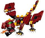 Конструктор LEGO Creator Міфічні істоти 223 деталі, фото 6