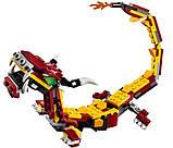 Конструктор LEGO Creator Міфічні істоти 223 деталі, фото 9
