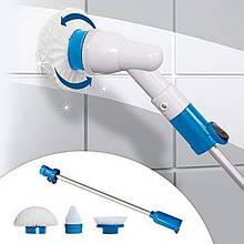Электрическая щетка Spin Scrubber швабра для уборки с насадками