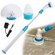 Электрическая щетка Spin Scrubber швабра для уборки с насадками (VJ2323-2561щеткаScrubber), фото 3