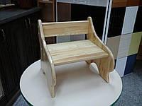 Детский стульчик с натурального дерева