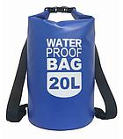 Рюкзак водонепроницаемый 15 л. черный, фото 2