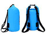 Рюкзак водонепроницаемый 15 л. черный, фото 4