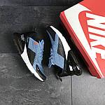 Мужские кроссовки Nike Air Max 270 (темно-голубые), фото 4