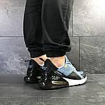 Мужские кроссовки Nike Air Max 270 (темно-голубые), фото 6