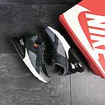 Мужские кроссовки Nike Air Max 270 (темно-серые), фото 2