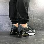 Мужские кроссовки Nike Air Max 270 (темно-серые), фото 4