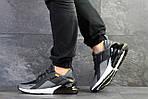 Мужские кроссовки Nike Air Max 270 (темно-серые), фото 5