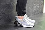 Мужские кроссовки Nike Air Max 270 (светло-серые), фото 4
