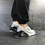 Мужские кроссовки Nike Air Max 270 (светло-серые), фото 6