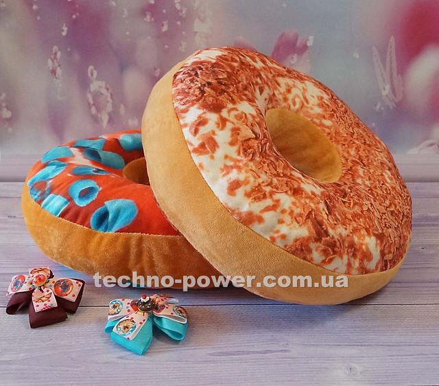 """3D Подушка декоративная Пончик """"Тирамису"""""""