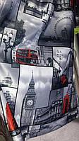 """Ткань печать """"Лондон"""""""