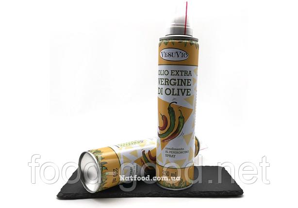 Оливковое масло-спрей с заправкой перец vesuvio, 250мл, фото 2