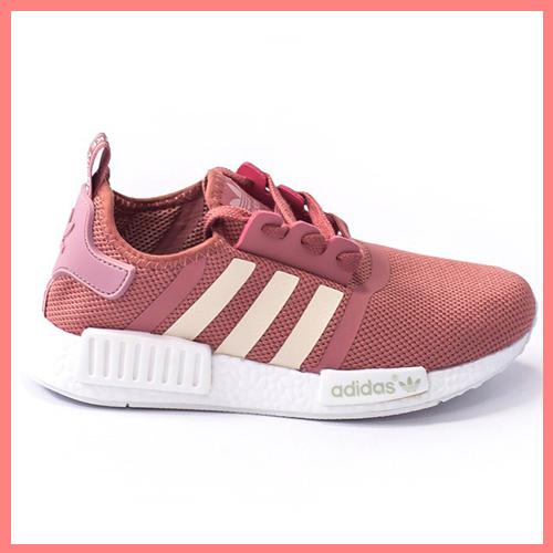 best service d2aa1 a9e8e Женские кроссовки Adidas NMD Runner Pink/White адидас нмд раннер розовые  (Реплика ТОП ААА+ класса)