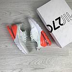 Женские кроссовки Nike Air Max 270 (бело-оранжевые), фото 2