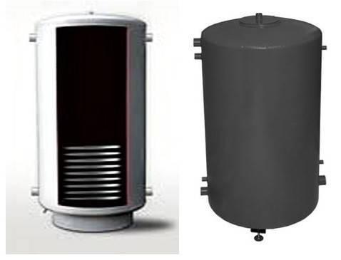 Аккумулирующий бак Termico 300л с теплообменником 6/12/18 кВт без изоляции , фото 2