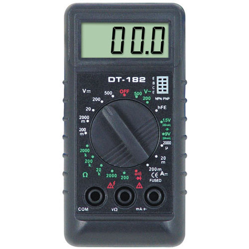 Цифровой тестер, мультиметр DT-838