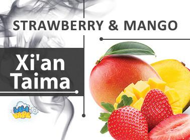 Ароматизатор xi'an Taima Strawberry and Mango (Полуниці манго)