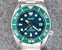 Часы Seiko Prospex SZSC004 Automatic Diver's 6R15 Green Sumo, фото 1