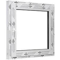 Окно одностворчатое поворотно-откидное ALMplast 1000х1000 мм