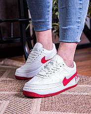 8630ac6c Женские кроссовки Nike Air Force 1 Jester XX White University Red (найк аир  форс 1